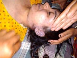 Lucknow-आम आदमी पार्टी ने लखनऊ में जमकर किया विरोध प्रदर्शन,पुलिस ने की लाठी चार्ज