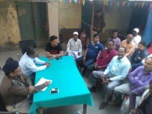 jay nagar-शांति समिति की बैठक का आयोजन