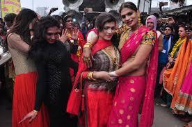 लखनऊ- राजधानी लखनऊ में किन्नरों की पदयात्रा