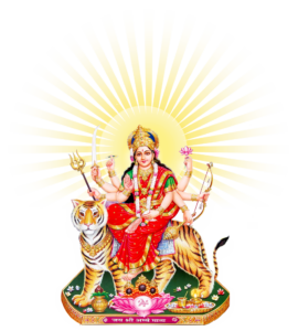 इस बारचैत्र नवरात्र में हाथी से आयी माँ दुर्गा,हाथी से ही करेगी प्रस्थान