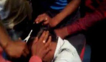 kanpur dehat-विद्यालय में छेड़छाड़ को लेकर हुआ बबाल,प्रधानाचार्य का सरेआम मुंडाया गया सर Soni News