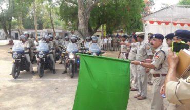 JALAUN-SP जालौन ने UP डायल 100 की मोटर साइकिलों हरी झंडी दिखाकर सभी सर्किलों के कोतवाली को किया रवाना Soni News