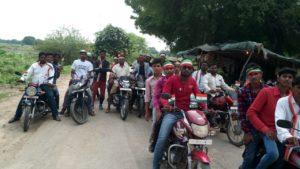 राष्ट्रीय मानवाधिकार सुरक्षा संस्थान ने स्वतंत्रता दिवस पर मोटरसाइकिल रैली निकाली