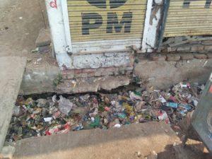 जालौन-उरई नगर पालिका परिषद द्वारा भारत सरकार की स्वच्छता अभियान योजना को लगाया जा रहा पलीता।