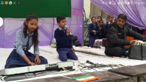 हर्ष के साथ मनाया गया गणतंत्र दिवस, बच्चो ने दिखाया अपना हुनर