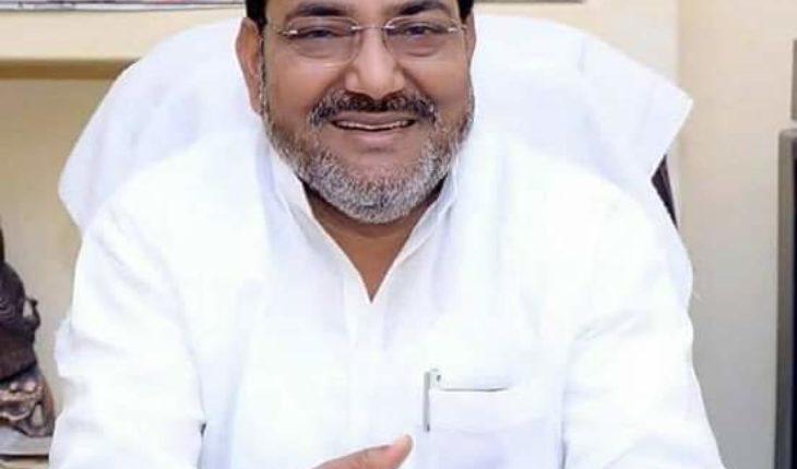जालौन-लोकसभा चुनाव में जालौन,गरौठा,भोगनीपुर कांग्रेस के उम्मीदवार ब्रजलाल खाबरी। Soni News