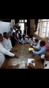 झाँसी: जिला अधिवक्ता संघ का 2019 निर्वाचन शांति पूर्वक हुआ मतदान !