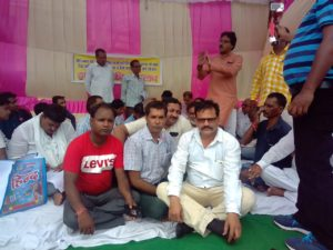 पत्रकारों पर हो रहे उत्पीड़न से पत्रकारों में है आक्रोश मिर्जापुर डीएम का फूंका पुतला