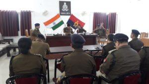 SSP लखनऊ ने पुलिस के वरिष्ठ अधिकारियों के साथ की मीटिंग