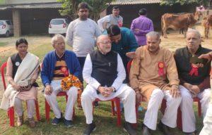 देश के प्रधानंत्री नरेंद्र मोदी के छोटे भाई का हुआ भव्य स्वागत