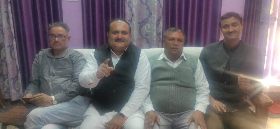 ब्राह्मण समाज को एक मंच पर लाएगी समन्वय समिति-प्रदेश अध्यक्ष मनीष शर्मा