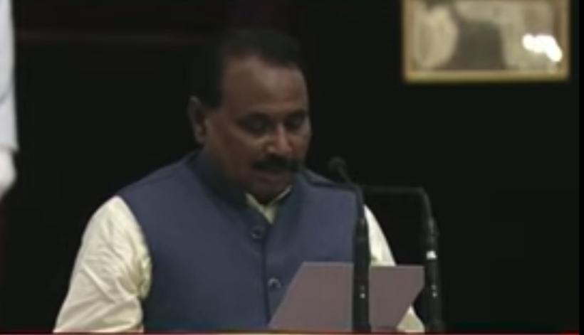 मोदी मंत्रिमंडल में मंत्री बने जालौन के सांसद भानु प्रताप सिंह वर्मा।